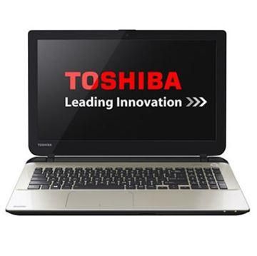 "Prijenosno računalo TOSHIBA Satellite L50-B-264 / DualCore N2840, DVDRW, 4GB, 500GB, HD Graphics, 15.6"" LED, LAN, kamera, HDMI, USB 3.0, DOS, bijelo sa zlatnim premazom"