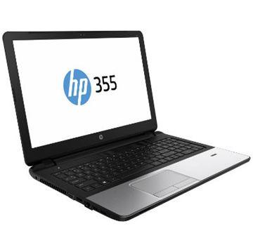 "Prijenosno računalo HP 355 G2 J0Y61EA / QuadCore A4-6210, DVDRW, 4GB, 500GB, Radeon R5 M24, 15.6"" LED HD, G-LAN, BT, kamera, HDMI, USB 3.0, DOS, srebrno"