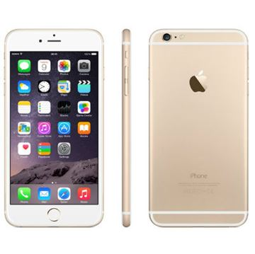 "Smartphone APPLE iPhone 6, 4.7"" IPS multitouch, DualCore Cyclone 1.4GHz, 1GB RAM, 128GB Flash, 2x kamera, 4G / LTE, BT, GPS, iOS 8, zlatno žuti"