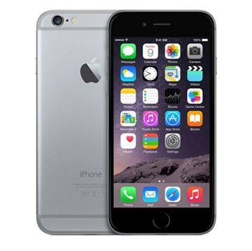 "Smartphone APPLE iPhone 6, 4.7"" IPS multitouch, DualCore Cyclone 1.4GHz, 1GB RAM, 128GB Flash, 2x kamera, 4G / LTE, BT, GPS, iOS 8, sivi"