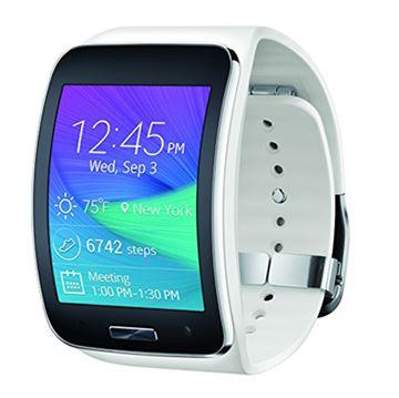 "SmartWatch SAMSUNG Gear S, 2.0"" Super Amoled touchscreen, DualCore 1.0GHz, 512mb RAM, 4GB Flash, WiFi, BT, USB, Tizen OS, bijeli"