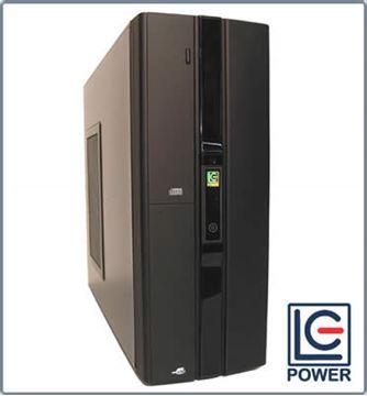 Kućište LC POWER 2039MB, mATX desktop, crno, 380W ATX V2.2