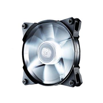 Ventilator COOLERMASTER Jetflo 120mm, R4-JFDP-20PW-R1, bijeli LED