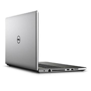 Prijenosno računalo DELL Inspiron 5559 / Core i7 6500U, DVDRW, 8GB, 1000GB, Radeon R5 M335, 15.6 LED FHD Touch, kamera, BT, HDMI, USB 3.0, Windows 8,1, srebrno