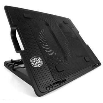 "Hlađenje za notebook COOLERMASTER ERGO STAND III, do 17"", 4x USB, miniUSB, microUSB, poteciometar za regulaciju, crno"