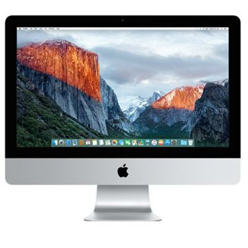 "Računalo APPLE iMac 21.5"" Retina 4K, Intel Quad Core i5 2.8GHz, 8GB, 1000 GB, Intel Iris Pro Graphic 6200, G-LAN, WiFi, USB 3.0, SDXC, BT, tipk., miš, zvuk, OS X, mk442cr/a"