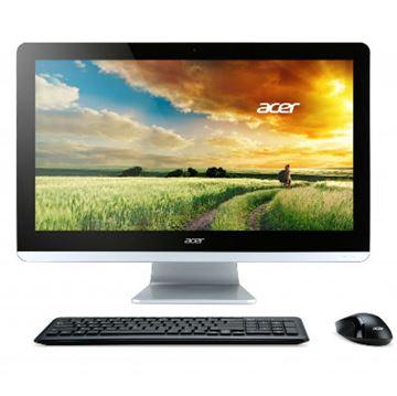 "Računalo ACER Aspire ZC-700, All-in-One DQ.SZCEX.002, Intel Celeron N3150, 1.6Ghz, 4GB, 1000GB, Intel HD, 19.5"" LED, DVDRW, G-LAN, WiFi, BT, USB, kamera, tipkovnica, miš, DOS"
