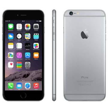 "Smartphone APPLE iPhone 6 Plus, 5.5"" FullHD IPS multitouch, DualCore Cyclone 1.4GHz, 1GB RAM, 64GB Flash, 2x kamera, 4G / LTE, BT, GPS, iOS 8, sivi"