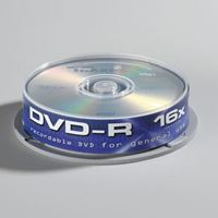 Medij DVD-R TRAXDATA 16x, 4.7GB, printable, spindle 10 kom