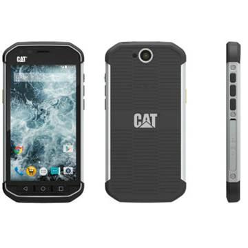 """Smartphone CAT S40, 4.7"""" IPS multitouch, QuadCore Cortex A7 1.1GHz, 1GB RAM, 16GB Flash, MicroSD, 4G/LTE, BT, Android 5.1, poseban dizajn za otpornost, crno-sivi"""