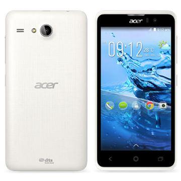 "Smartphone ACER Liquid Z520, 5""  multitouch , QuadCore MediaTek MT6582 1.3 GHz, 2GB RAM, 16GB Flash, Dual SIM, MicroSD, kamera, BT, Android 4.4.2, bijeli"