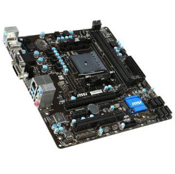Matična ploča MSI A88XM-E35 V2, DDR3, zvuk, SATA, G-LAN, RAID, USB 3.0, D-Sub, HDMI, DVI, mATX, s. FM2+