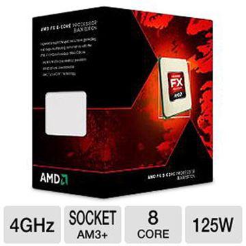 Procesor AMD FX X8 8350 BOX, s. AM3+, 4.0GHz, 16MB cache, Eight Core