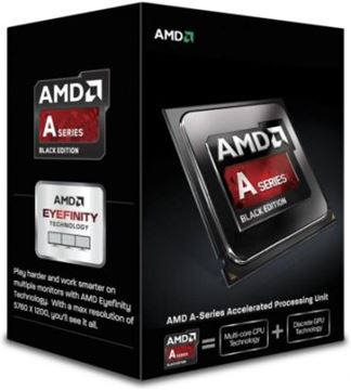 Procesor AMD A10 X4 7850K BOX, Black Edition, s. FM2+, 4.0GHz, 4MB cache, GPU R7, Quad Core