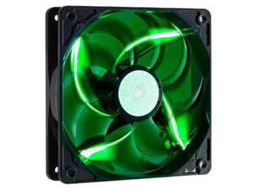 Ventilator COOLERMASTER SickleFlow 120mm, 19dB, zeleni LED, R4-L2R-20AG-R2