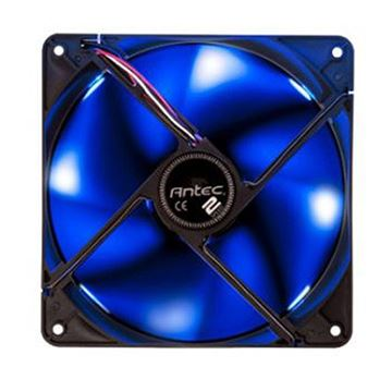 Ventilator ANTEC TwoCool Blue, 140mm, plavi LED, 800 / 1200 okr/min