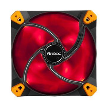 Ventilator ANTEC TrueQuiet, 120mm, crveni LED, 600 / 1000 okr/min