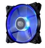 Ventilator COOLERMASTER Jetflo 120mm, R4-JFDP-20PB-R1, plavi LED