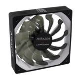Ventilator LC POWER LC-CF-80-PRO Airazor Series, PWM, 80mm, 600-2000 okr/min