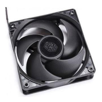 Ventilator COOLERMASTER Silencio FP120 3PIN 120mm, R4-SFNL-12FK-R1, crni
