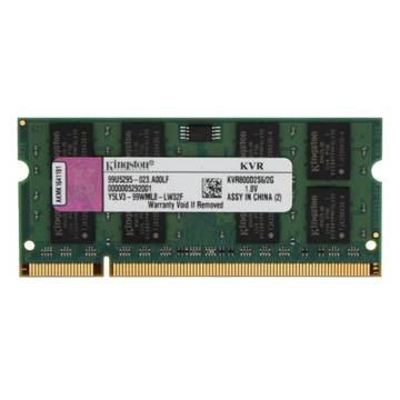 Memorija SO DIMM PC-6400, 2 GB, KINGSTON ValueRAM KVR800D2S6/2G, DDR2 800MHz