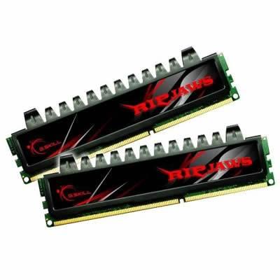 Memorija PC-10666, 4 GB G.SKILL Ripjaws series, F3-10666CL7D-4GBRH, DDR3 1333MHz, kit 2x2GB