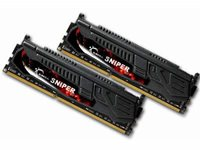 Memorija PC-14900, 8 GB, G.SKILL Sniper Series, F3-14900CL9D-8GBSR, DDR3 1866MHz, kit 2x4GB