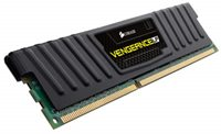 Memorija PC-12800, 8 GB, CORSAIR CML8GX3M2A1600C9 Vengeance Low Profile Black, DDR3 1600MHz, kit 2x4 GB