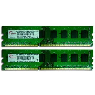 Memorija PC-10600, 16 GB, G.SKILL DDR3 series, F3-10600CL9D-16GBNT, DDR3 1333MHz, kit 2x8GB