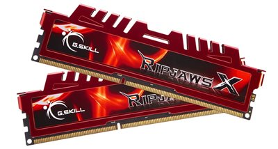 Memorija PC-12800, 16 GB (2x8GB), G.SKILL Ripjaws X series, F3-12800CL10D-16GBXL, DDR3 1600MHz, kit