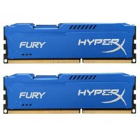 Memorija PC-12800, 8 GB, KINGSTON HyperX Fury Blue HX316C10FK2/8 DDR3 1600MHz, kit 2x4GB