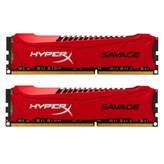 Memorija PC-19200, 8 GB, KINGSTON Savage HX324C11SRK2/8 DDR3 2400MHz, 2x4GB