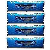Memorija PC-19200, 16 GB, G.SKILL Ripjaws 4 series, F4-2400C15Q-16GRB, DDR4 2400 MHz, kit 4x4GB