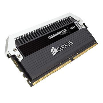 Memorija PC-22400, 16 GB, CORSAIR CMD16GX4M4A2800C16 Dominator Platinum, DDR4 2800Mhz, 4x4GB kit