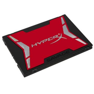 "SSD 120.0 GB KINGSTON SAVAGE Hyper X, SHSS37A/120G, SATA3, 2.5"", do 560/360 MB/s"
