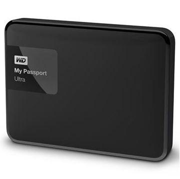 "Tvrdi disk vanjski 2000.0 GB, WESTERN DIGITAL My Passport Ultra Black WDBBKD0020BBK, USB 3.0, 5400 okr/min, 2.5"", crni"