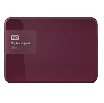 Tvrdi disk vanjski 3000.0 GB WESTERN DIGITAL My Passport Ultra WDBBKD0030BBY, USB 3.0, bordo crveni