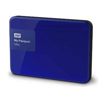 Tvrdi disk vanjski 3000.0 GB WESTERN DIGITAL My Passport Ultra WDBBKD0030BBL, USB 3.0, plavi