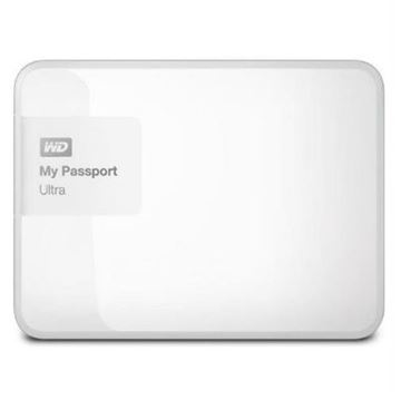 """Tvrdi disk vanjski 1000.0 GB WESTERN DIGITAL My Passport Ultra WDBGPU0010BWT, USB 3.0, 2.5"""", bijeli"""