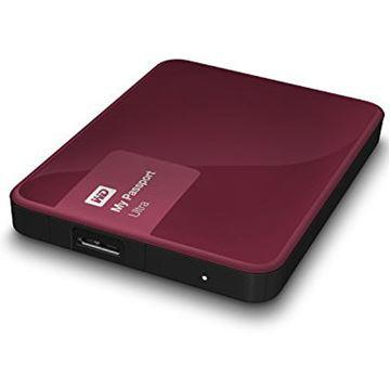 "Tvrdi disk vanjski 1000.0 GB WESTERN DIGITAL My Passport Ultra WDBGPU0010BBY, USB 3.0, 2.5"", bordo crveni"