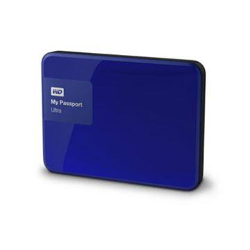 """Tvrdi disk vanjski 1000.0 GB WESTERN DIGITAL My Passport Ultra WDBGPU0010BBL, USB 3.0, 2.5"""", plavi"""
