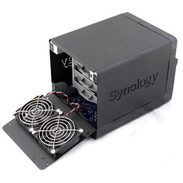 "Eksterno kućište SYNOLOGY DS414 Slim DiskStation 4-bay NAS server, 2.5"" HDD/SSD podrška,512 MB, 2xG-LAN, Hotswapp"