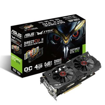 Grafička kartica PCI-E ASUS GeForce GTX 970 Strix OC, 4GB DDR5, DVI, HDMI, DP