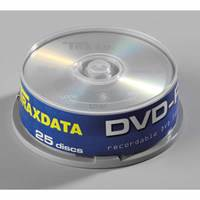 Medij DVD-R TRAXDATA 16x, 4.7GB, spindle 25 kom