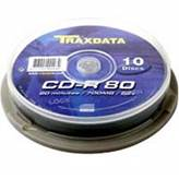 Medij CD-R TRAXDATA 52x, 700MB, spindle 10 kom