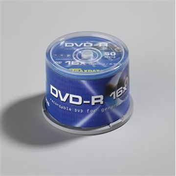Medij DVD-R TRAXDATA 16x, 4.7GB, spindle 50 komada