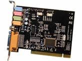 Zvučna kartica, PCI, C-MEDIA 8738, 4-kanalna