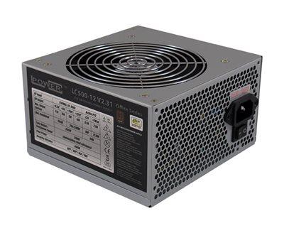 Napajanje 500W, LC POWER Office Series LC500H-12, ATX v2.2, 120mm vent., PFC