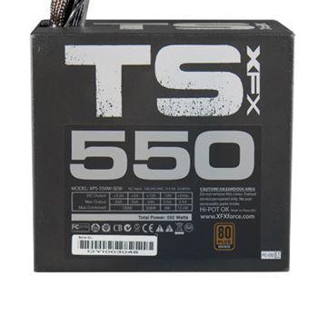 Napajanje 550W, XFX TS Series, P1-550G-TS3X, ATX v2.31, 120mm vent, PFC