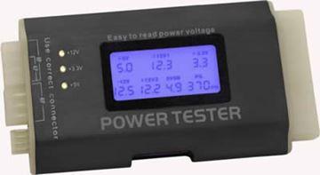 Tester napajanja DELOCK III, ATX, BTX, ITX, 24-pin, display